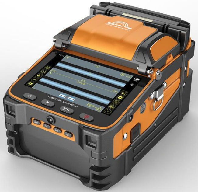 High Speed Core Alignment Fusion Splicer With Built-In Power Meter and VFL