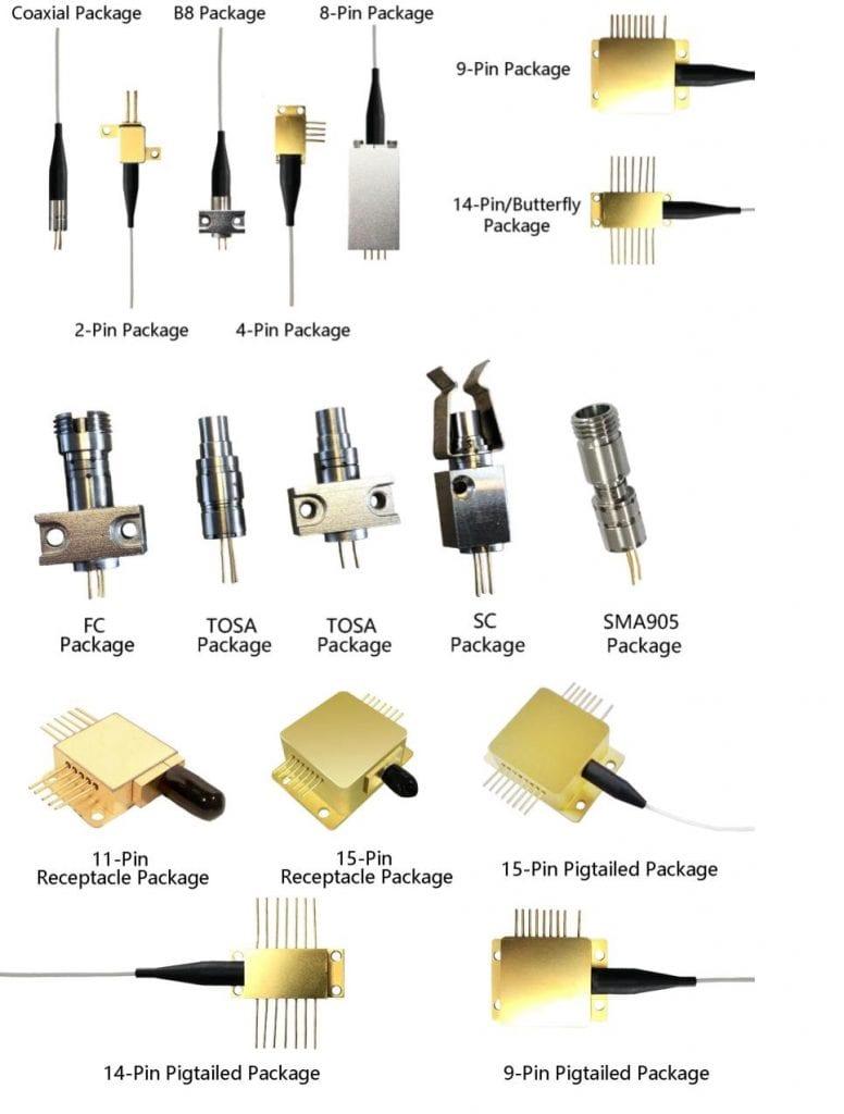 Wavespectrum Laser Diodes from BBN International